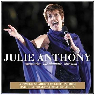 JULIE ANTHONY Memories – The Ultimate Collection (Personally Signed by Julie) CD