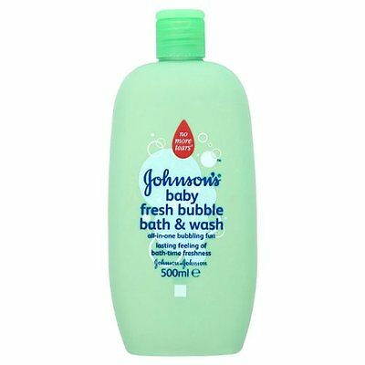 Johnsons Baby Special Edition Fresh Bubble Bath and Wash 500 ml