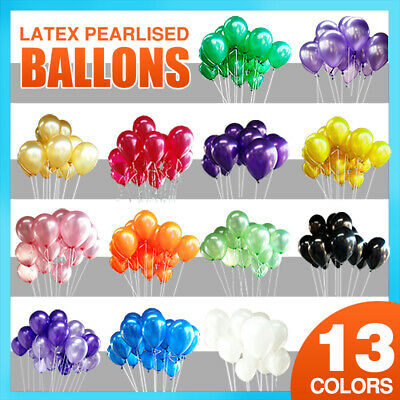 Latex Standard Helium Quality Balloons Party Wedding Air Birthday 13 Colors New