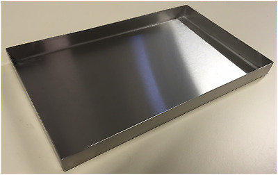 325mm L 197mm W Commercial Stainless Steel Food Tray