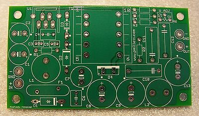 DIY PCB - 10-15W high Voltage Power Supply for Tube Preamp