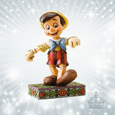 "Pinocchio ""Lively Step""  Jim Shore Disney Tradition  Showcase 4010027"
