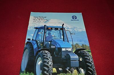 New Holland TS90 TS100 TS110 Tractor Dealers Brochure YABE6