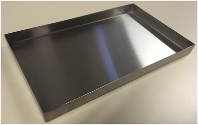 Bulk 50 x 325mm L 197mmW Commercial Stainless Steel Food Trays