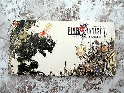 Final Fantasy VI Special Tracks Single Japan CD PSDN-6101