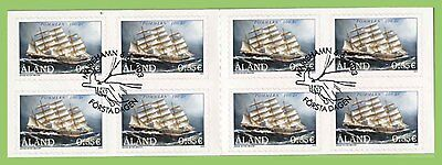 Aland 2003 Centenary of Pommem (Ship) complete booklet used