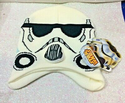 Star Wars Storm Trooper Cappello Con Paraorecchie Hat Gorro