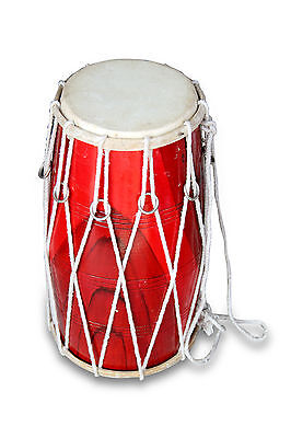 Dholak-Drums-T- Rope-Tuned-Made-With-Mango-Wood-Dholki-Dhol-Dholak 0121