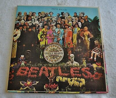 The Beatles Sgt .Peppers Lonely Hearts Club Band Vinyl Record Mono MAS 2653
