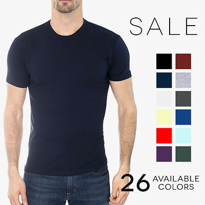 Next Level Premium Crew T-Shirt Mens Soft Fitted Basic Plain Tee Shirt 3600