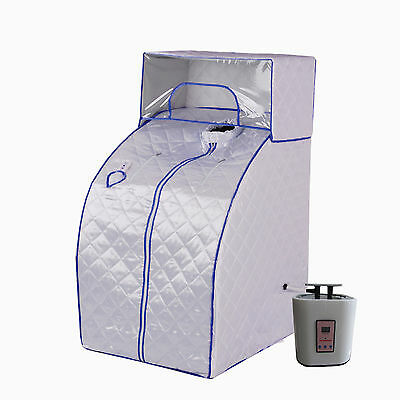 Portable Fold Therapeutic Steam Sauna Head Cover Full Body Detox-Weight Loss-MB3