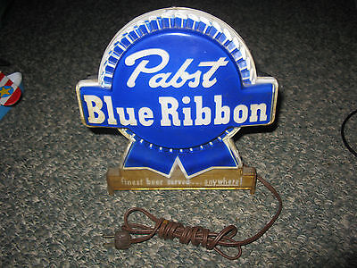 Vintage Pabst Blue Ribbon Cash Register Sign