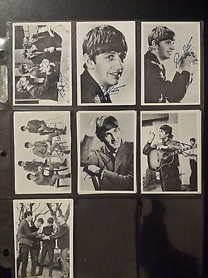Original Topps Trading Cards- Beatles Black and White Series 1 1964