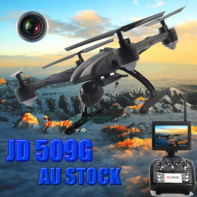 JXD 509G FPV 2.4Ghz 4CH RC 6Axis Quadcopter Drone with 2MP HD Camera RTF UFO UAV