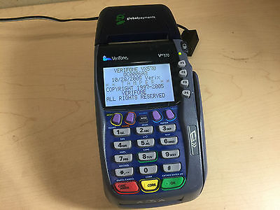 VeriFone Vx570 Omni 5750 Credit Card Terminal Machine~FREE SHIP!