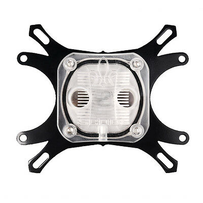 CPU Water Cooling Block Waterblock 50mm Copper Base Cool Inner Channel Hot