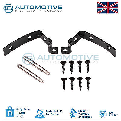 Audi A4 S4 RS4 B6 B7 8E Glove Box Lid Hinge Snapped Repair Fix Kit Brackets