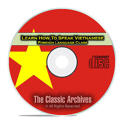 Learn How To Speak Vietnamese, Fast Foreign Language Training Course, CD E23