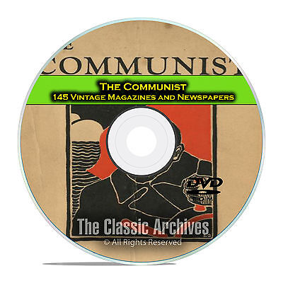 The Communist Magazine and Newspaper, 145 back issues, Dawn of Communism DVD D03