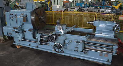 "25/50"" x 72/132"" LEBLOND HEAVY-DUTY SLIDING-BED GAP TYPE ENGINE LATHE - #27679"