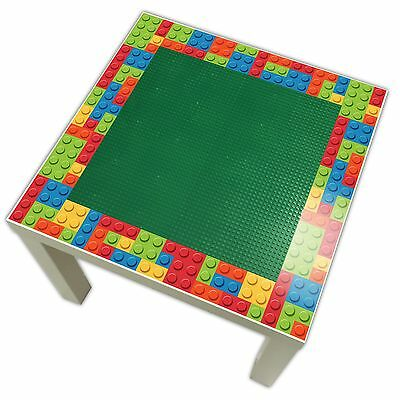 Childrens Lego Top Table - Perfect for Bedrooms & Playrooms