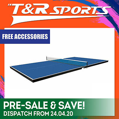 12Mm Full Size Table Tennis Pool Table Top + Accessories Free Syd Mel Bne Post