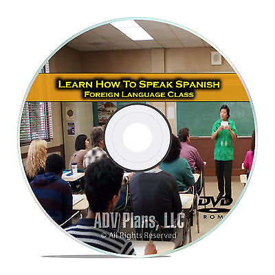 Learn How To Speak Spanish, Fluent Foreign Language Training Class, DVD E16