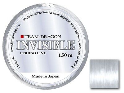 Dragon Team Dragon Invisible monofilament line / 150m / 0,16-0,30mm / clear