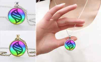 Silver/Bronze Anime Pokemon mega stone Jewelry Glass Dome Pendant Necklace