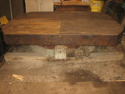 Cincinnati - Gilbert  Serial #AL-60-696   INDEX TABLE