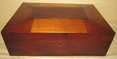 Original Shaker Mixed Woods Sewing Box With Full Interior