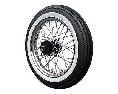 """White Rubber Band Motorcycle Wheel Tyres Front Rear 17 """""""