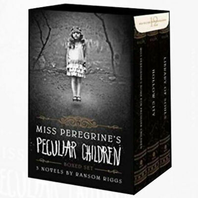 Ransom Riggs Miss Peregrine's Peculiar Children Series 3 Book Collection Set NEW