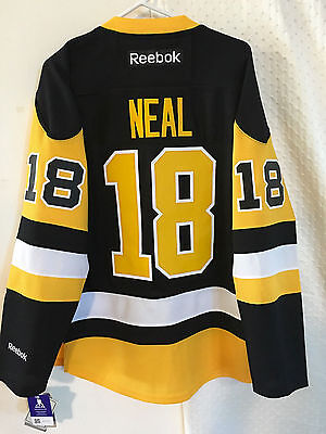 NHL Pittsburgh Penguins James Neal Premier Ice Hockey Shirt Jersey