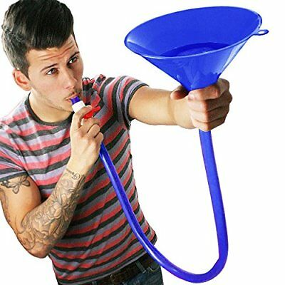 Blue Beer Bong Funnel for American Style Parties