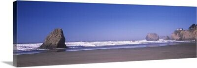 "Canvas Art Print ""Surf on the beach, Fort Bragg, Mendocino County, California"""