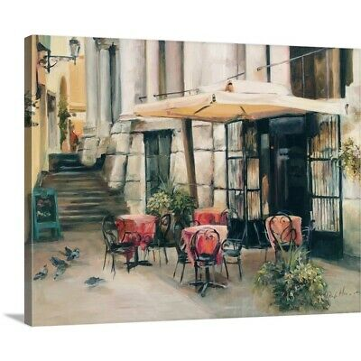 Solid-Faced Canvas Print Wall Art entitled Wine Cellar in Vincenza