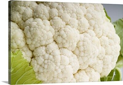 Premium Thick-Wrap Canvas Wall Art entitled Cauliflower