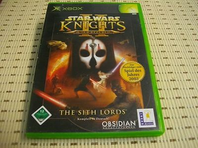 Star Wars Knights of the Old Republic II 2 XBOX *OVP*