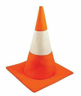 Traffic Cone Hat Fancy Dress Costume Accessory Novelty Unisex Orange Road Safety