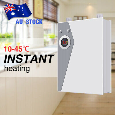 Instant Electric Hot Water Heater Tankless Outdoor Camping Hot Water System AU