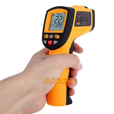 Wide Range Portable Digital Infrared Thermometer Temperature Laser Gun -50~700
