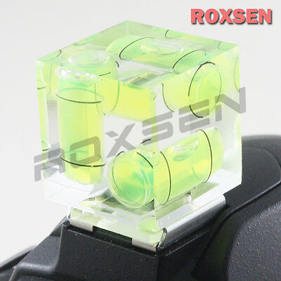 3 Axis Hot Shoe Bubble Spirit Level for CANON NIKON PENTAX OLYMPUS DSLR camera