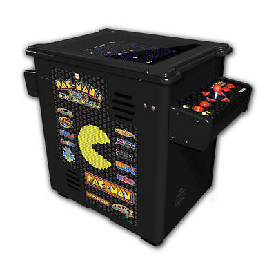 Pac-Man Arcade Party Home Cocktail Table Arcade Game - Black