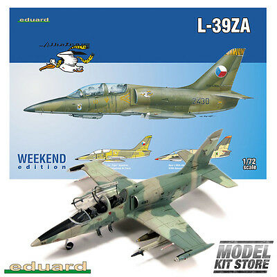 L-39ZA - 1/72 Weekend Edition Eduard Aircraft Model Kit #7427