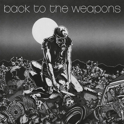 LIVING DEATH - Back to the Weapons  MLP  LTD  BLACK