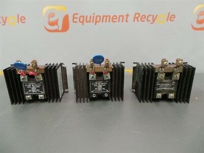 NTE Solid State Relay RS3-1040-21  20V 120AMP 7710-202124 7710-2-02-2-24 Lot 3