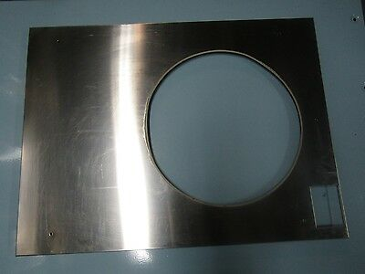 Unimac / Speed Queen/Huebsch 18lbs Washer Front Panel Stainless Steel