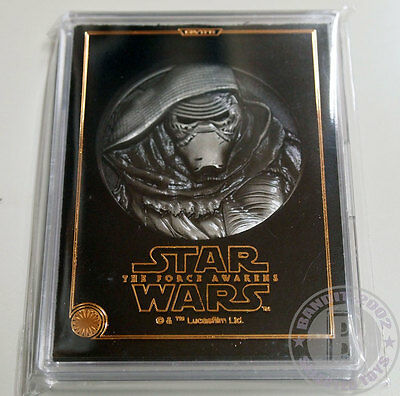 STAR WARS Force awakens Medal JAPAN Movie theater Exclusive Dec 2015 Kylo Ren