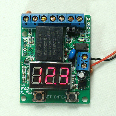 Voltage Controller Battery Charger Relay Switch Over-Under Voltage Protection